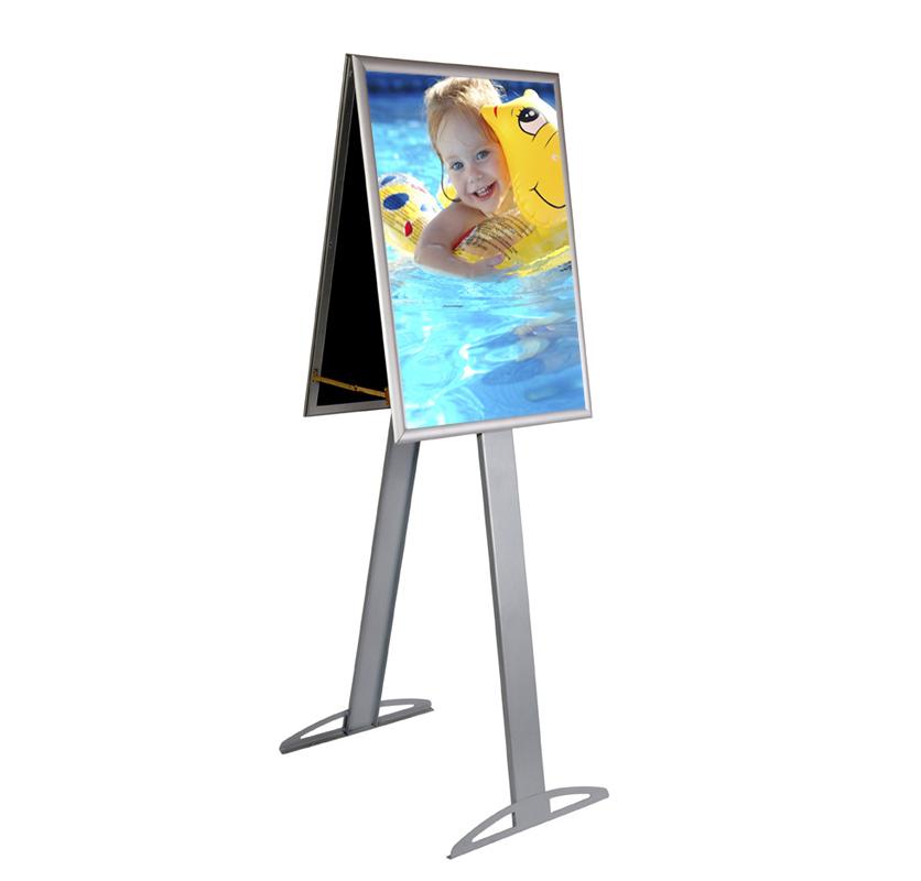A Frame A1 d/sided clip frame tall